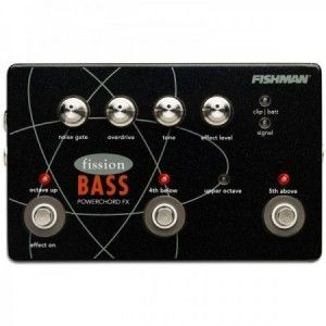 PEDAL FISHMAN FISSION BASS POWERCHORD