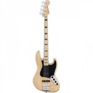 FENDER JAZZ BASS DELUXE ACTIVE NATURAL MP