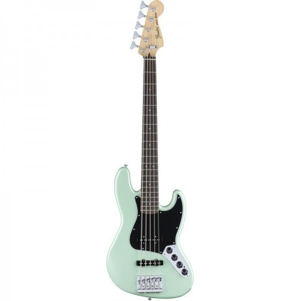 FENDER JAZZ BASS V DELUXE ACTIVE SURF PEARL PF
