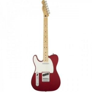 FENDER TELE STD CANDY APPLE RED MP ZURDO