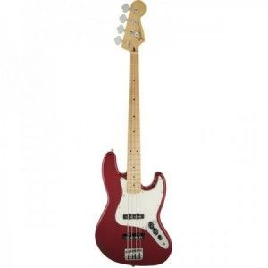 FENDER JAZZ BASS STD CANDY APPLE RED MP