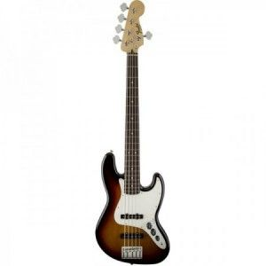 FENDER JAZZ BASS STD V BROWN SUNBURST PF 5 CUERDAS