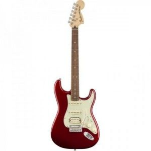 FENDER STRAT DELUXE HSS CANDY APPLE RED PF