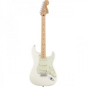 FENDER STRAT DELUXE ROADHOUSE OLYMPIC WHITE MP