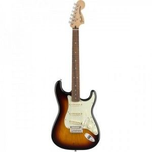 FENDER STRAT ROADHOUSE DELUXE 3 TONOS SUNBURST PF