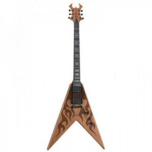 BC RICH JRV IT LASER FLAME NATURAL