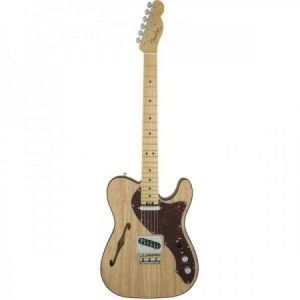 FENDER AMERICAN ELITE TELE THINLINE NATURAL MP