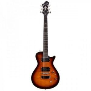 HAGSTROM ULTRA SWEDE GOLDEN EAGLE BURST