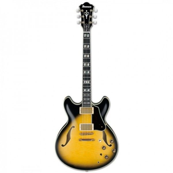 IBANEZ AS200 VINTAGE YELLOW SUNBURST