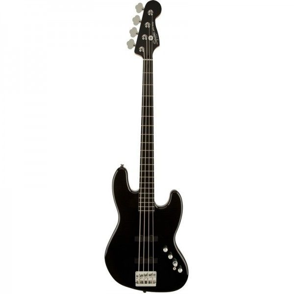 SQUIER JAZZ BASS DELUXE IV ACTIVE NEGRO EB
