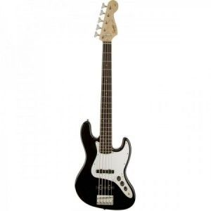 SQUIER AFFINITY JAZZ BASS BLACK RW 5 CUERDAS
