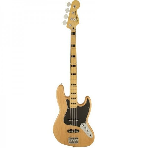 SQUIER JAZZ BASS VINTAGE MODIFIED 70S NAT MP