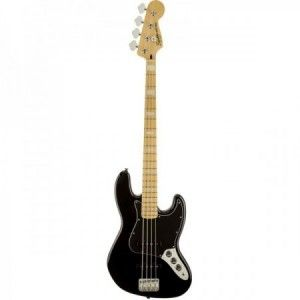SQUIER JAZZ BASS VINTAGE MODIFIED 77 NEGRO