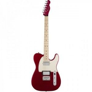 SQUIER CONTEMPORARY TELE HH M RED MP