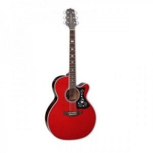 TAKAMINE GN75 CE WINE RED