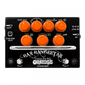 ORANGE BAX BANGEETAR NEGRO