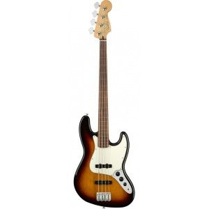 FENDER PLAYER JAZZ BASS FRETLESS PF SUNBURST