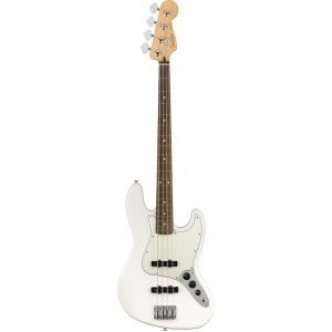 FENDER PLAYER JAZZ BASS POLAR WHITE PF