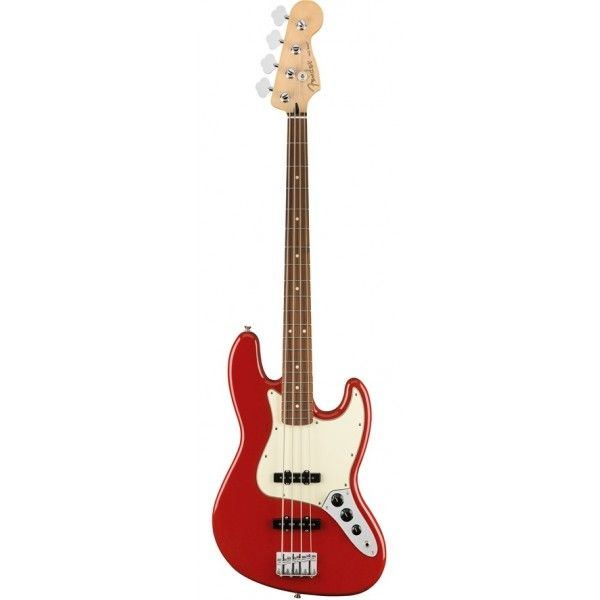 FENDER PLAYER JAZZ BASS SONIC RED PF front