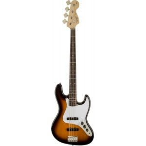 SQUIER JAZZ BASS AFFINITY BROWN SB RW