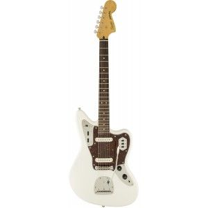 SQUIER JAGUAR VINTAGE MODIFIED OLYMPIC WHITE IL