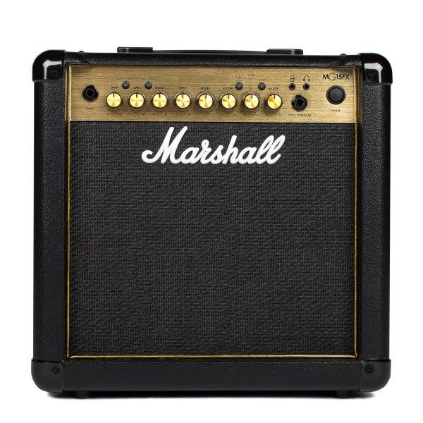 MARSHALL MG15FX GOLD front