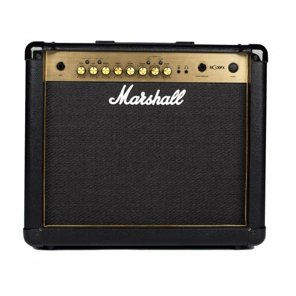 MARSHALL MG30 GOLD front