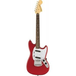 SQUIER MUSTANG VINTAGE MODIFIED FIESTA RED IL