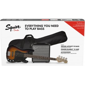 SQUIER AFFINITY PJ BASS SB Y RUMBLE 15