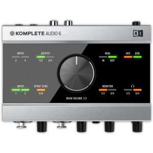 NATIVE KOMPLETE AUDIO 6