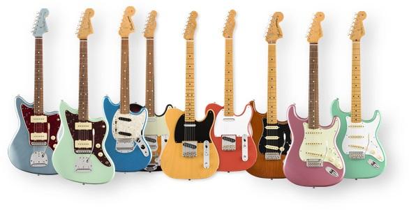 Guitarras eléctricas de la nueva serie Vintera de Fender