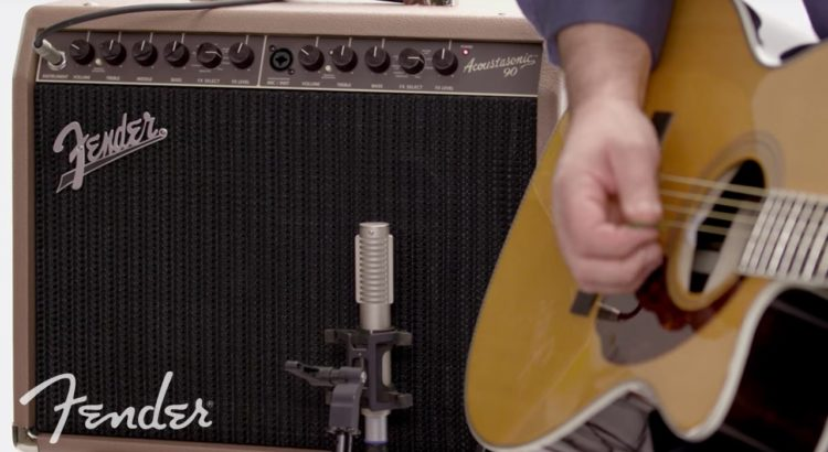 Amplificar una guitarra acústica