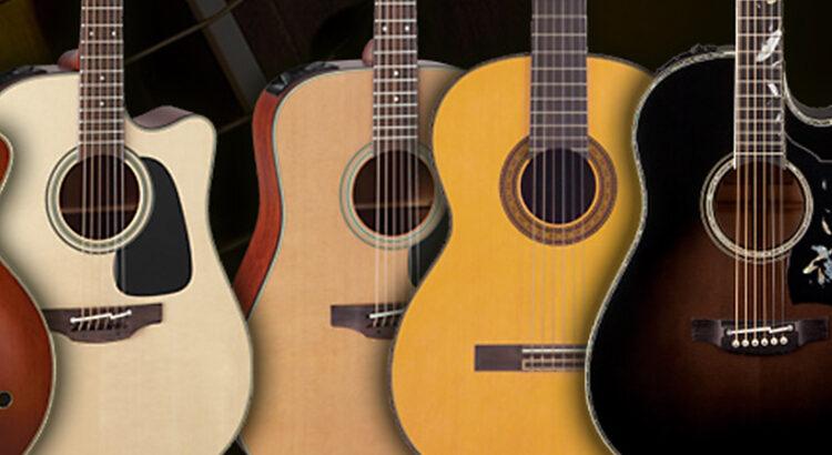 Guitarras acusticas Takamine