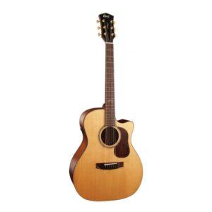 Guitarra electroacústica Cort Gold A6 Natural satin