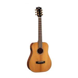 Guitara Electroacústica Cort Gold Mini F3/4 con Funda
