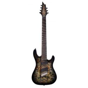 Guitarra Eléctrica Cort KX500 MS SDB 7 Cuerdas