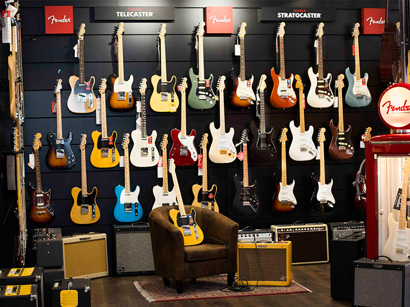 Fender Show Room